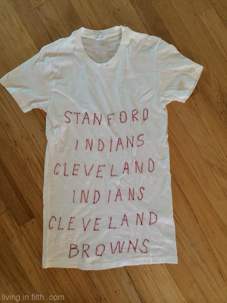60s Sewn Fan Shirt